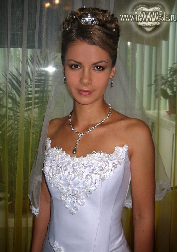 свадебные прически севостьяно